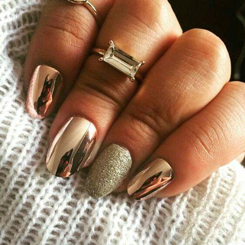 nail art, design, ногти, маникюр, дизайн ногтей, переводная фольга, золотой маникюр