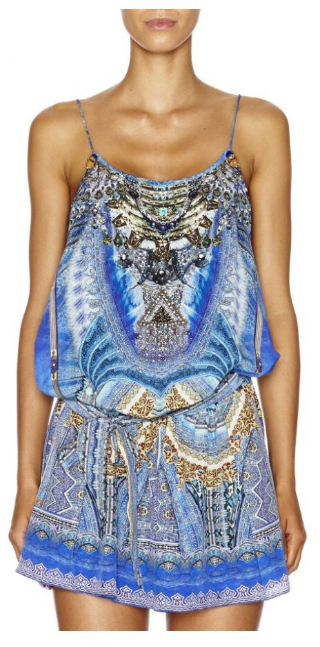 Palace of Dreams playsuit by Camilla