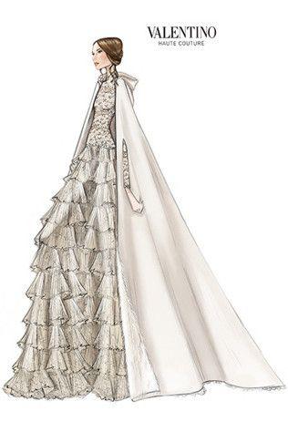 Tatiana Santo Domingo weds Andrea Casiraghi in Valentino couture