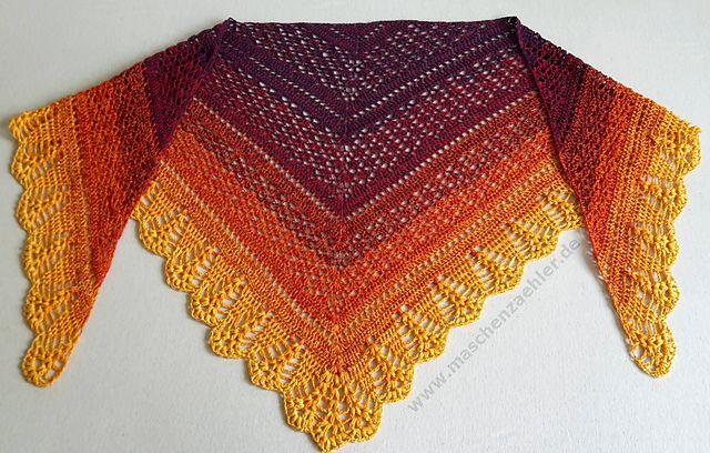 Erigeneia Crochet Shawl [Free Pattern] | Styles Idea