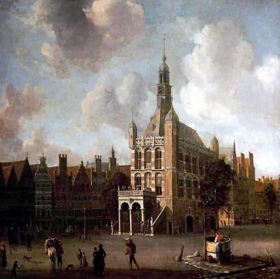 De Brink en Waag te Deventer - 1665 - Beerstraten