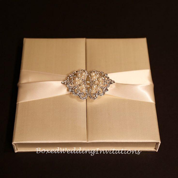 Gatefold Invitation Box Silk By Boxedwedding