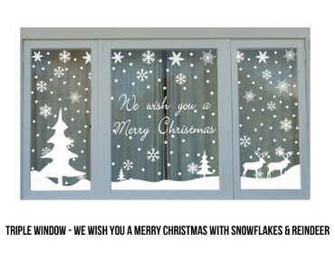 Christmas Window Stickers - GrabOne Store Mobile