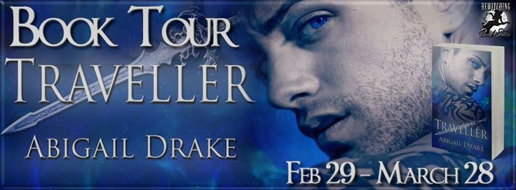 Traveller Abigail Drake Genre: Paranormal Romance Publisher: The Wild Rose Press Date of Publication: February 26, 2016 ISBN: 978-1-5092-0569-1 Paperback ISBN: 978-1-5092-0570-7 Digital ASIN…