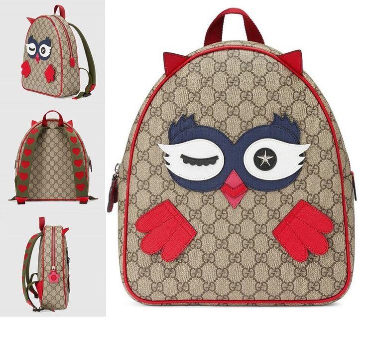 Backpack owl wink back strap travel portable carry school lunch bag #ad #toddler #kid