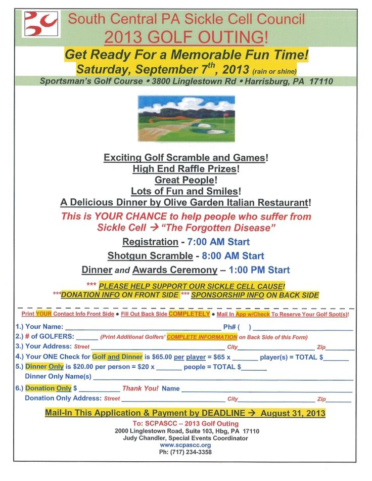 Best Golf Tournament Images On   Flyers Golf Outing