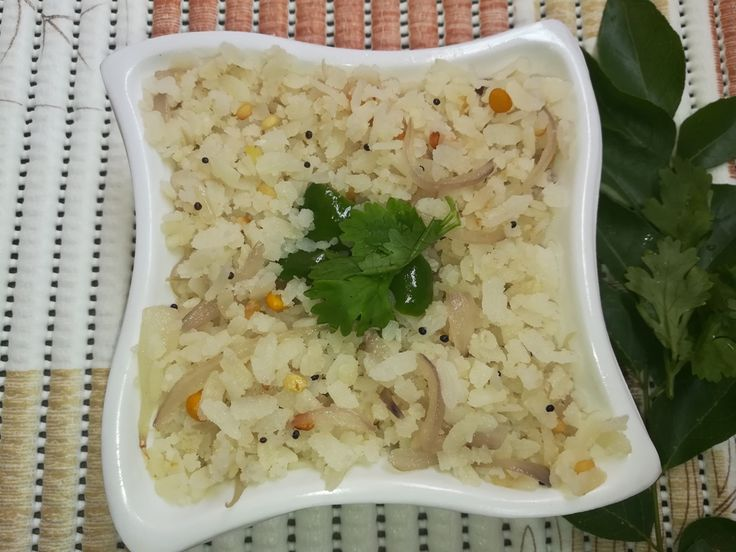 Famous Indian Recipes - Aval upma recipe is an easy and quick breakfast recipe also known as Poha Upma recipe, breakfast recipes, Poha Upma for Breakfast