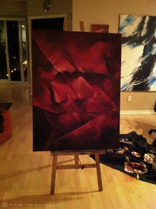 Oil on canvas 48x36