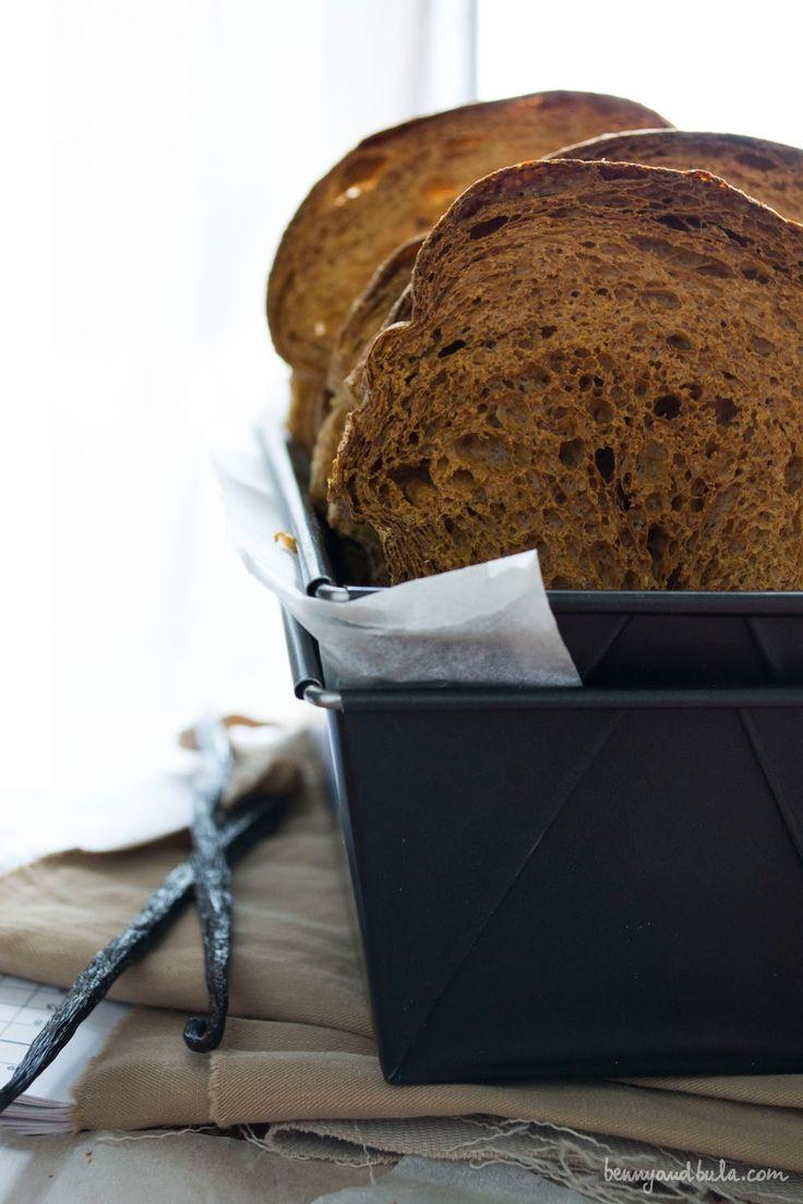 Zwieback Toasts with Barley Malt and Vanilla (Vegan) / Fette Biscottate con Malto d'Orzo e Vaniglia