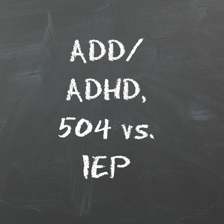 If your child had been diagnosed with ADD/ADHD, it is important to know the difference between a 504 plan/ IEP to determine which would best help your child