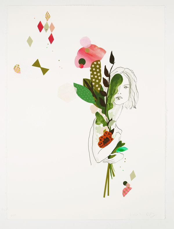 'Necklace / Houseplant' by Beci Orpin and Kat Macleod for their joint show, A Hidden Place, opening in Melbourne tonight.