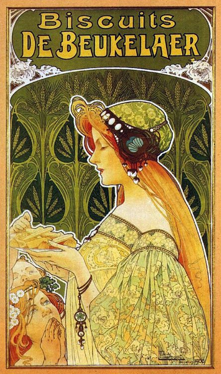Advertisment for 'Biscuits de Beukelaer'by Henri Privat ...