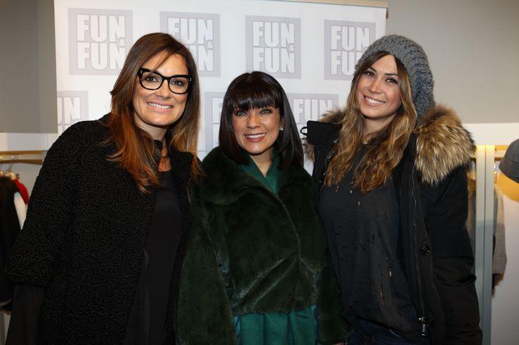Alena #Seredova, Ana Laura #Ribas e Melissa #Satta presso il nostro stand Fun&Fun al Pitti Bimbo di Firenze