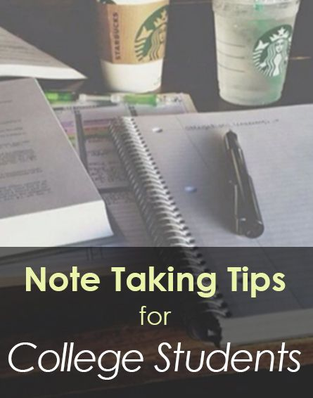 Note taking tips for college students - Memorize material and study efficiently with these easy-to-follow tips.