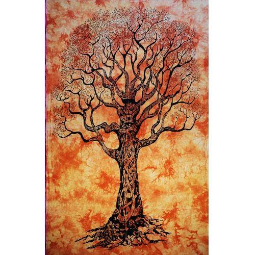 Tenture Arbol de la vida (Orange)