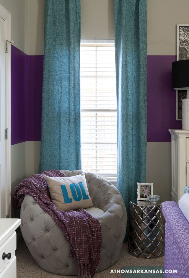 Girls Bedroom Ideas Blue And Purple. The analogous colors of blue and purple makes this a modern 13 year old  girls room I like the striped wall 41 best Girl bedroom ideas images on Pinterest Bedroom