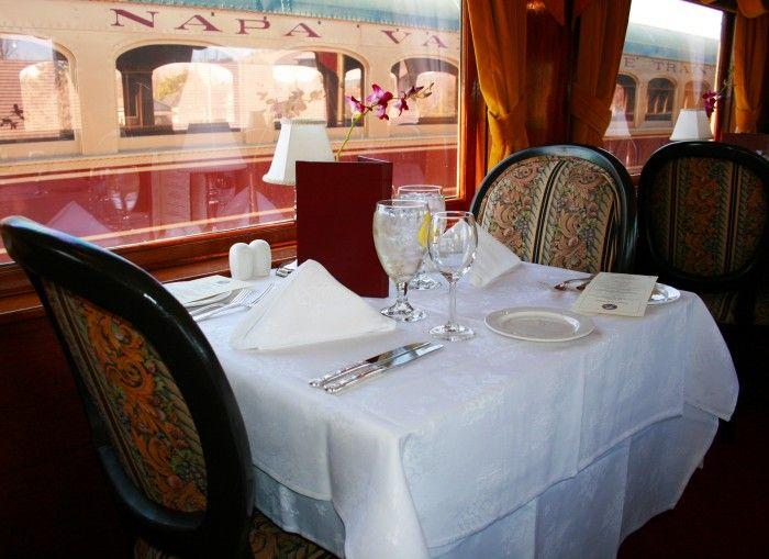 Gourmet Express Journey | Gourmet Dining Napa | Napa Valley Wine Train