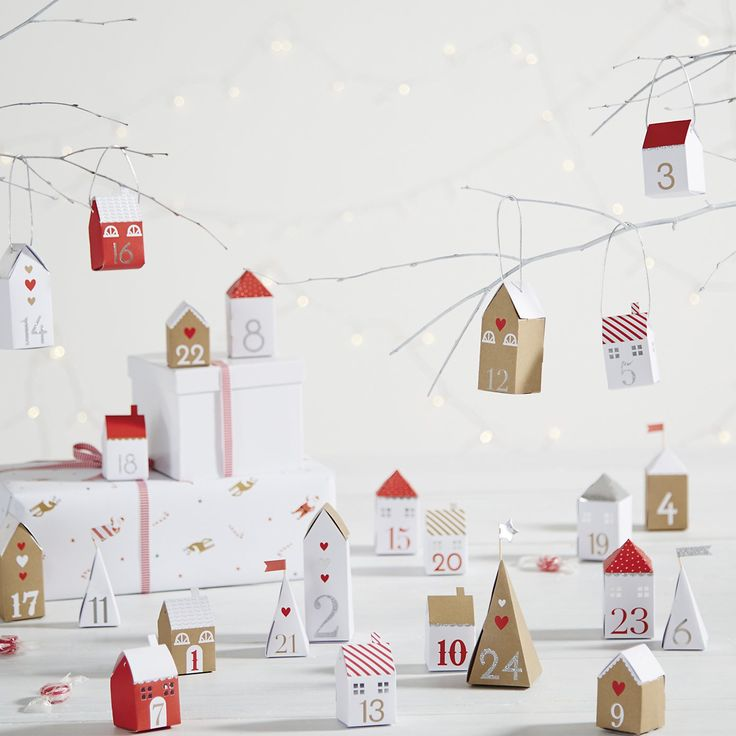 Christmas Village Advent Calendar.