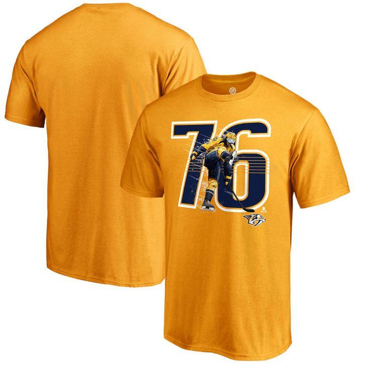PK Subban Nashville Predators Fanatics Branded Hometown Collection Subbanator Big & Tall T-Shirt - Maize