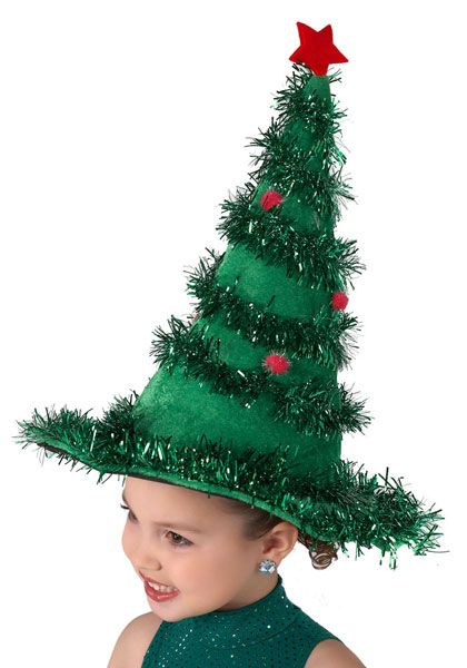 Rockin Xmas Tree Hat