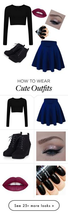 """Cute dark outfit"" by aubreehm on Polyvore featuring women's clothing, women, female, woman, misses and juniors"