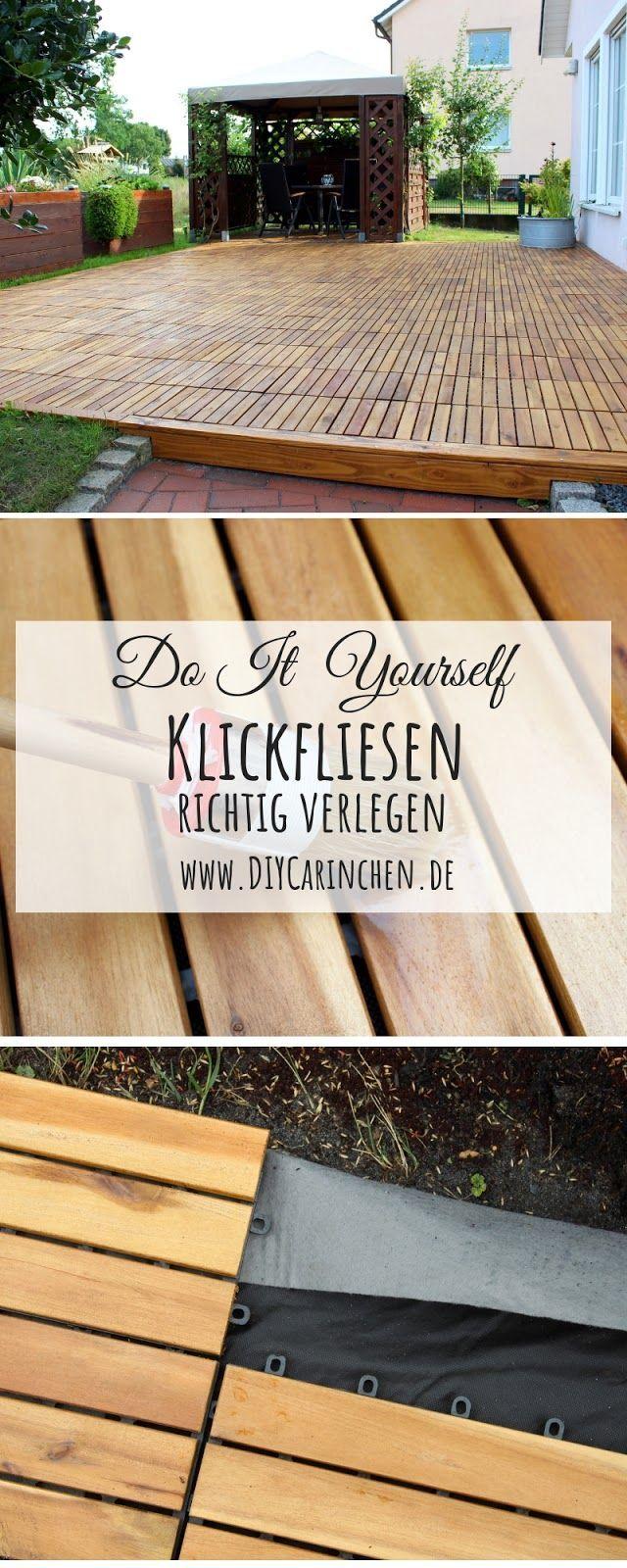 DIY   Klickfliesen / Holzfliesen richtig verlegen + Tipps und ...