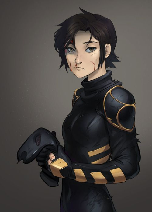 "psuedofolio: "" An Orphan by Psuede Cassandra Cain headlined the number one selling comic last week, and Marcio Takara rocked it too. Hence some new fan art. """