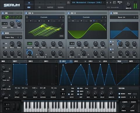 Xfer Records' Serum – Sound Oracle's Top 10 Go-To VST Synths 2016 – Sound Oracle…