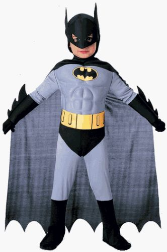 Child's Toddler Classic Batman Halloween Costume (Size: 2-4T) $69.99
