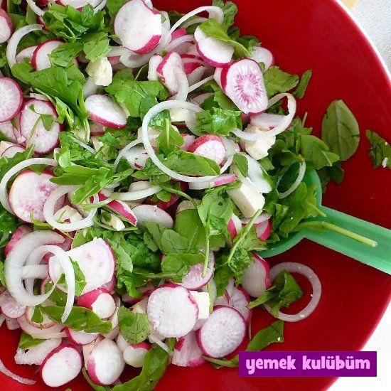Turp Salatası nasıl yapılır, resimli Turp Salatası yapımı yapılışı, Turp Salatası Tarifi anlatımı, en güzel diyet ve sağlıklı bahar salataları için tıklayın.