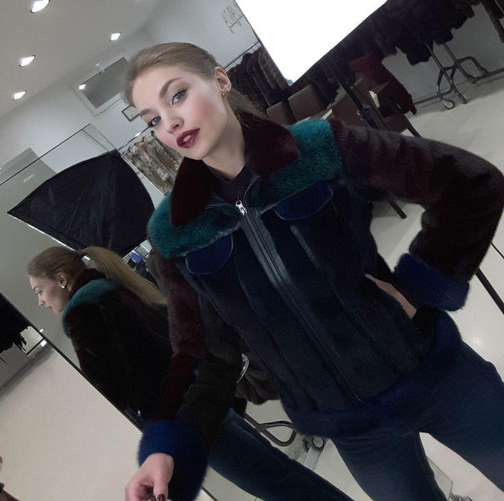 AVANTI FURS - P-TAIT DEMIN Mink Jacket мех шуба #avantifurs #fur #fashion #mink #luxury #musthave #мех #шуба #стиль #норка #зима #красота #мода #topfurexperts