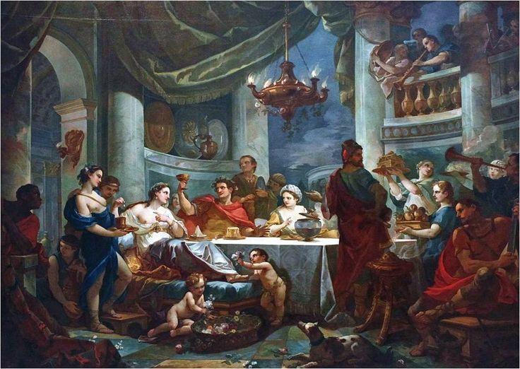 Story of Mark Antony - The Banquet of Cleopatra (Banket u Kleopatry)
