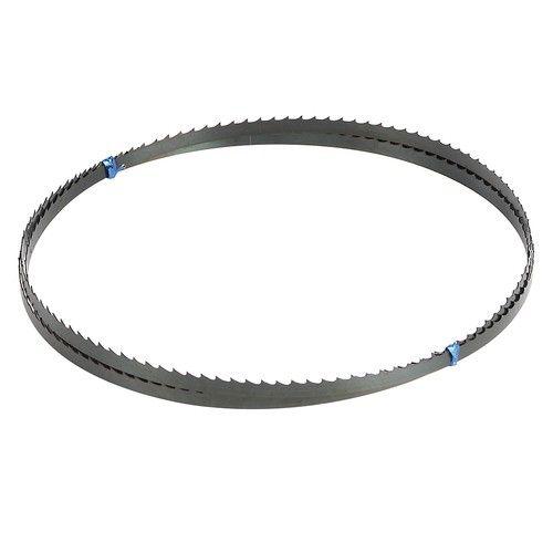 Lame de scie à ruban 6TPI Référence  TH041 État :  Nouveau  Lame de scie à ruban en acier à ressort de qualité premium CS80. Pour la coupe des métaux non ferreux, du plastique et du bois.