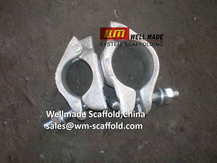 """Formwork Scaffolding Materials: 1.5""""x2"""" Scaffold Prop Couplers-Drop Forged-48mmx60..."""