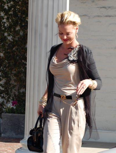 Katherine Heigl's feminine style