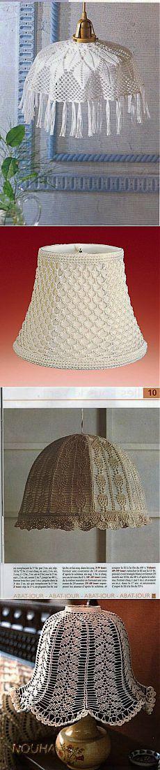 pantallas de lámparas de punto.