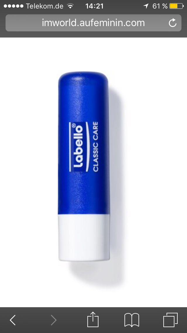 Labello - nicht nur Lebensretter für trockene Lippen sondern auch für trockene Nagelhaut    Anwendung: Einfach farblosen Labellonauf Nagelbett & Nagelhaut auftragen un 1 Stunde darauf lassen.  Ergebniss: Nach ca 1 Stunde super gepflegte Nagelhaut.