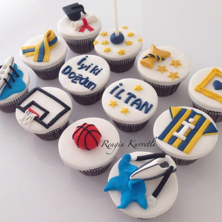 Doğum günü cupcakeleri / Birthday Cupcakes