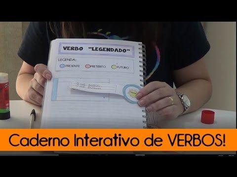 (53) Caderno Interativo de VERBOS - YouTube