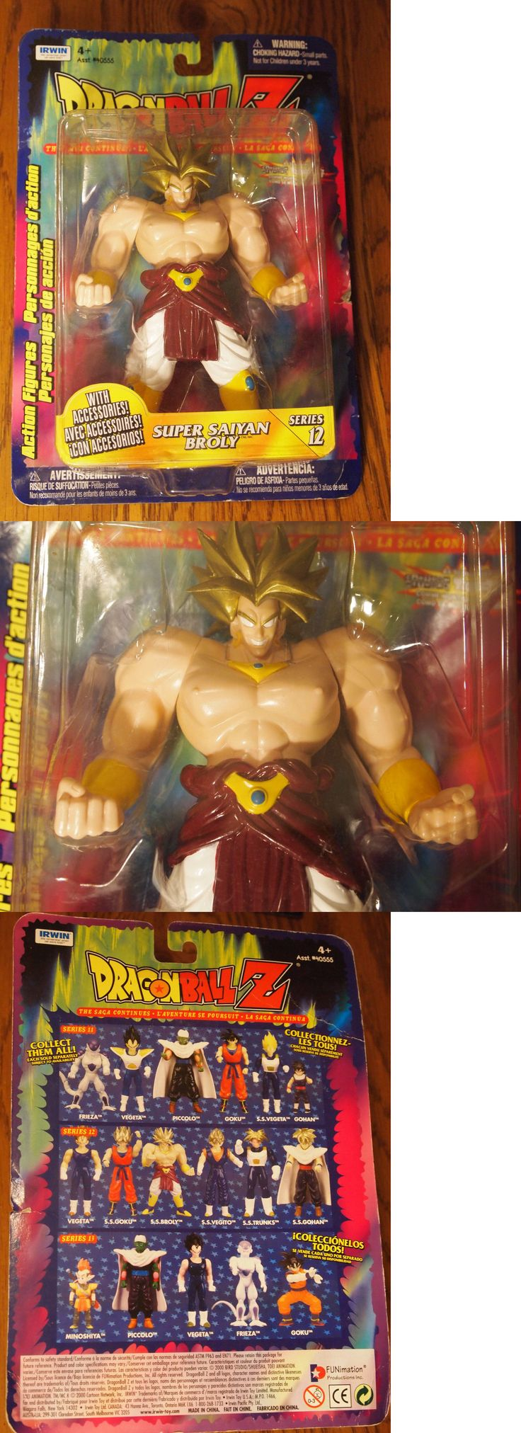 DragonBall Z 7117: Irwin 2000 Dragonball Z Series 12 Super Saiyan Broly Figure, Mint On Card -> BUY IT NOW ONLY: $31.95 on eBay!