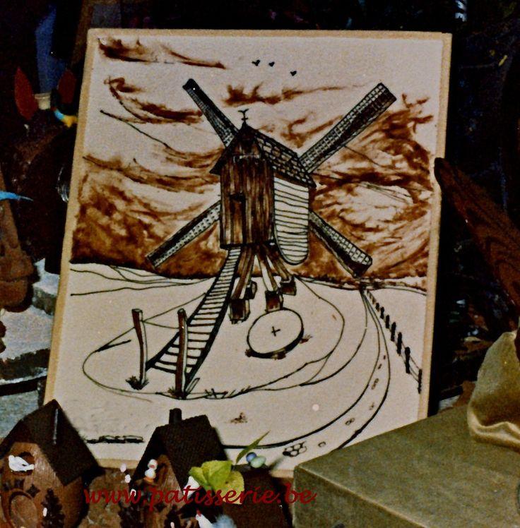 Schilderen met Cacaoboter « Patisserie.be – Recepten voor patisserie, confiserie, ijs, brood en nagerechten