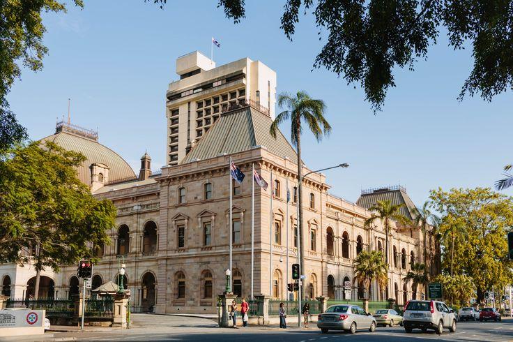Queensland University of Technology, Alice St #brisbanecity #heritage #building