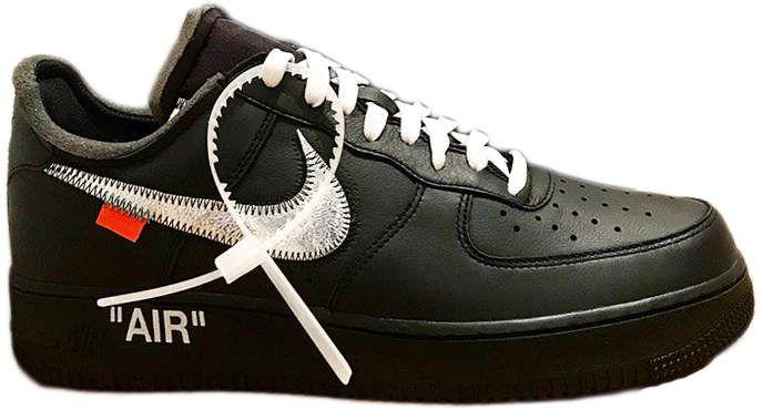 Nike Air Force 1 '07 Virgil x MoMA (With Socks)