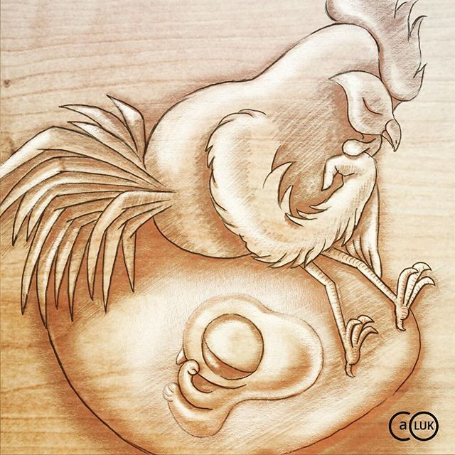 daily drawing 11 chicken or the egg https www anthonyluk co