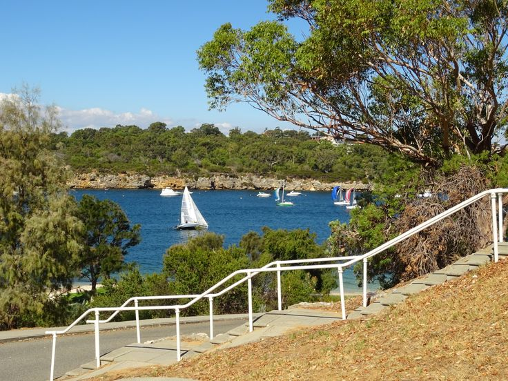 Mosman Park in Perth, WA - Great views of the water.  Usually a lot of activity to watch on a nice day.