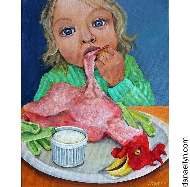 #chickenwings Dana Ellyn