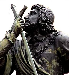 statue chevalier bayard | ... gens de coeur par le célèbre chevalier bayard | Moyen âge Passion