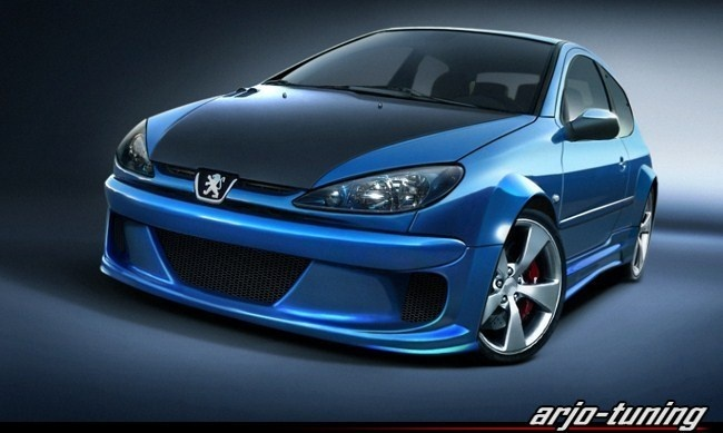 Awesome PEUGEOT 206 TUNING - PEUGEOT Photo (14630603) - Fanpop fanclubs pic #Peugeot #tuning