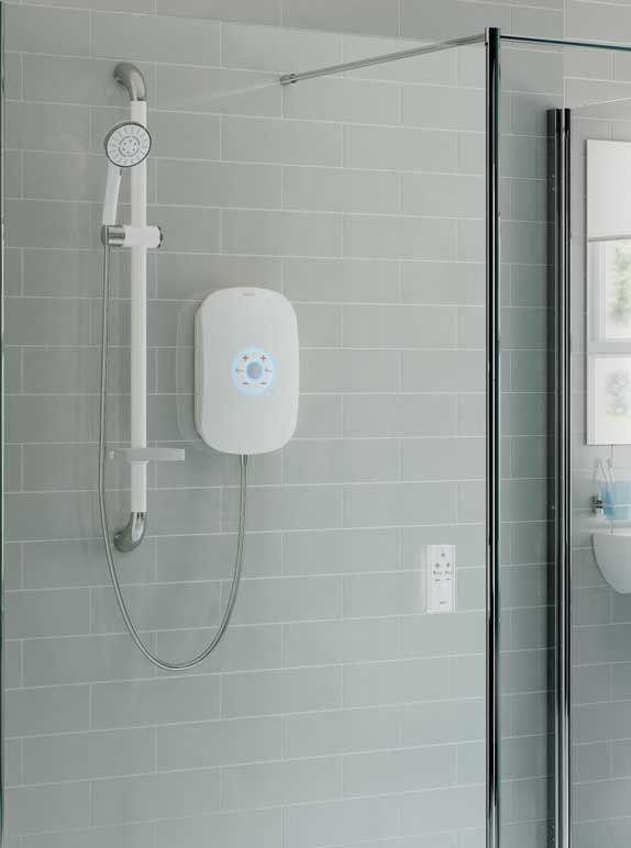 electric walk in shower bluetooth