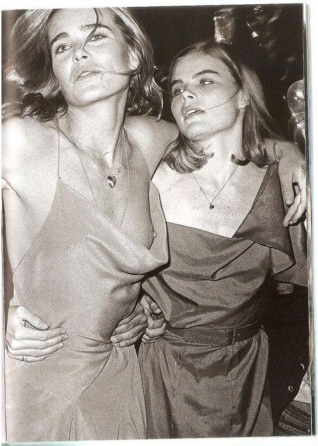 Sisters Mariel & Margaux Hemingway